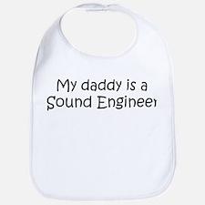 Daddy: Sound Engineer Bib