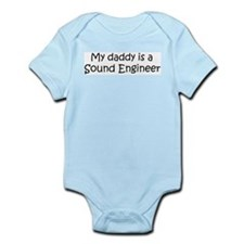 Daddy: Sound Engineer Infant Creeper