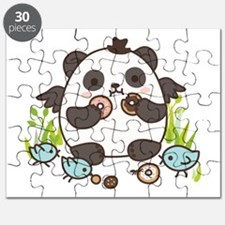 Sweet Doughnut Party! Puzzle