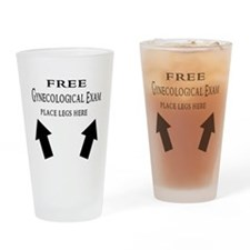 Free Gynecological Exam place Drinking Glass