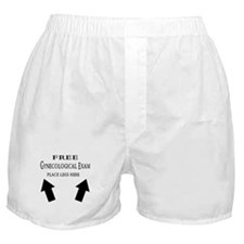 Free Gynecological Exam place Boxer Shorts