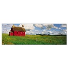 Schoolhouse Battle Lake Otter Tail County MN Poster