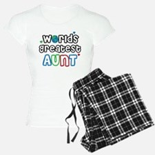 World's Greatest Aunt! Pajamas