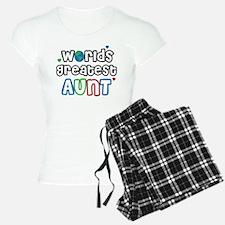 World's Greatest Aunt! Pajamas