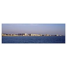 Florida, Venice, Coastline of Gulf of Mexico Poster