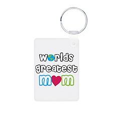 World's Greatest Mom! Keychains