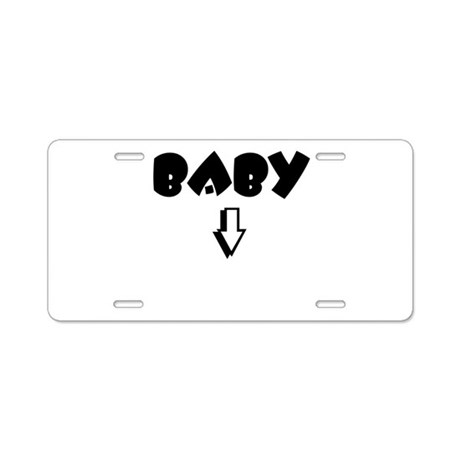 Baby Aluminum License Plate