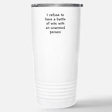 Battle of Wits Travel Mug