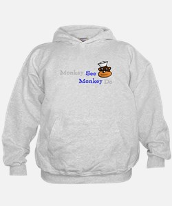 Funny and cute See Monkey Hoodie