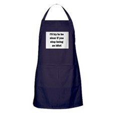 I'll try to be nicer... Apron (dark)