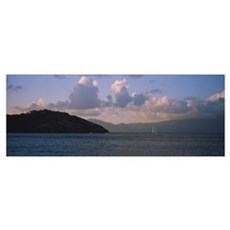 Harbor-Iles des Saintes Guadeloupe Windward Island Canvas Art
