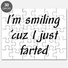 I'm smiling 'cuz I just farte Puzzle