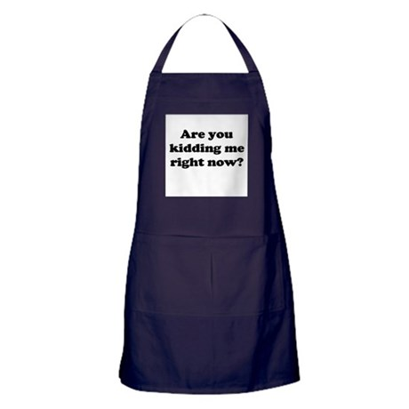 Are you kidding me right now? Apron (dark)