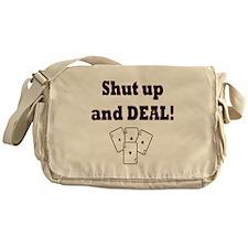 Shut up and Deal! Messenger Bag