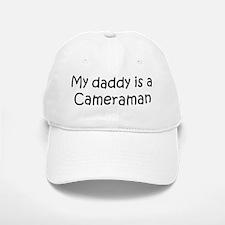 Daddy: Cameraman Baseball Baseball Cap