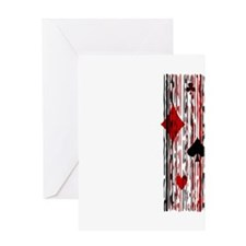 Suits & Stripes Greeting Card