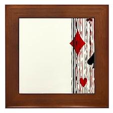 Suits & Stripes Framed Tile