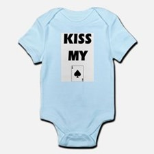 Kiss My Ace Infant Bodysuit