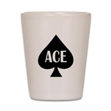 Ace Kicker Shot Glass