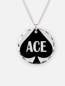 Ace Kicker Necklace Circle Charm