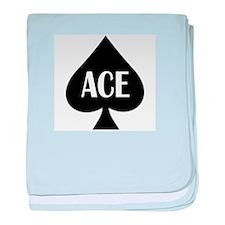 Ace Kicker baby blanket