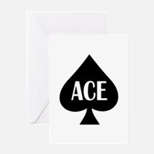 Ace Kicker Greeting Card