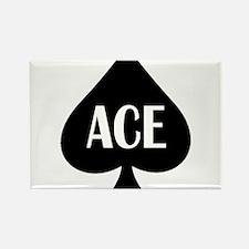 Ace Kicker Rectangle Magnet