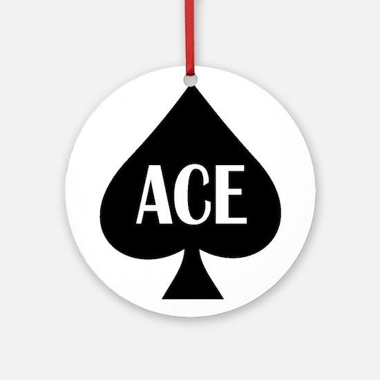 Ace Kicker Ornament (Round)