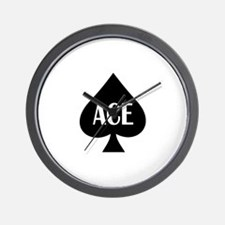 Ace Kicker Wall Clock