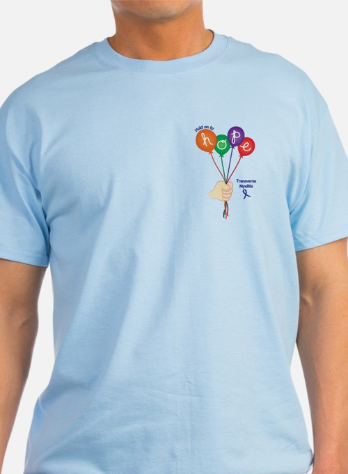 Hold on to Hope T-Shirt (blue)
