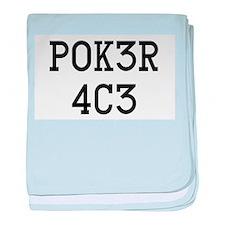 Poker Ace baby blanket