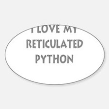 Luv My Reticulated Python (Wh Decal