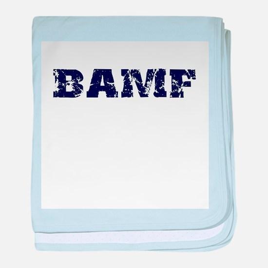 BAMF 2 baby blanket