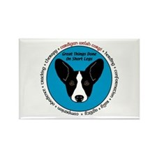 Great Things BW CWC Rectangle Magnet