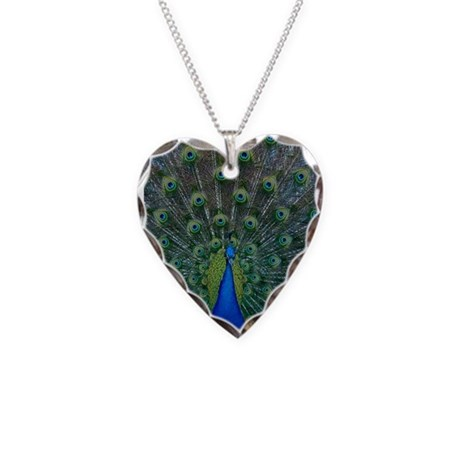 Peacock 6025 - Necklace Heart Charm