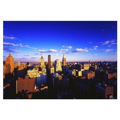 New York, Manhattan, Midtown of Manhattan Canvas Art