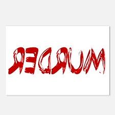REDRUM Postcards (Package of 8)