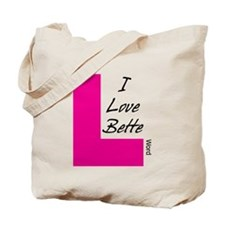 I Love Bette Tote Bag