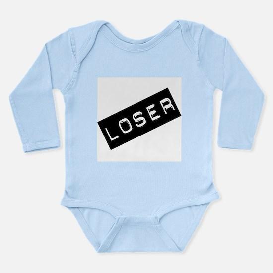 Loser Long Sleeve Infant Bodysuit