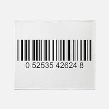 Barcode (large) Throw Blanket