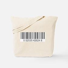 Barcode (large) Tote Bag