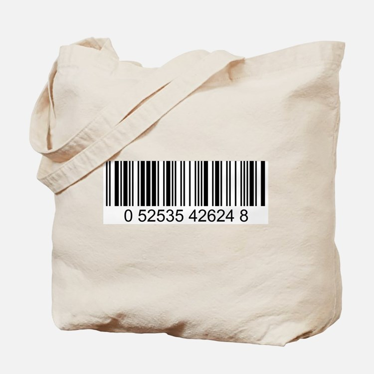 Barcode (large) Tote Bag