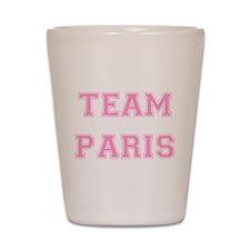 Team Paris Light Pink Shot Glass