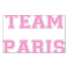 Team Paris Light Pink Decal