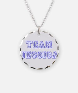Team Jessica Lavender Necklace