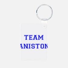 Team Aniston Blue Keychains