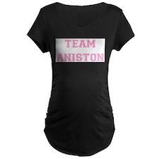 Team Aniston Pink T-Shirt