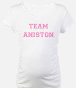 Team Aniston Pink Shirt