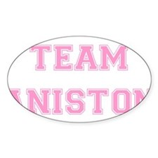 Team Aniston Pink Decal