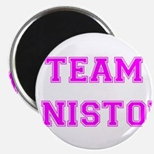 Team Aniston Hot Pink Magnet